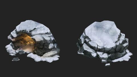 Game Model Arena - bucolic - Snowy Portal 01 01