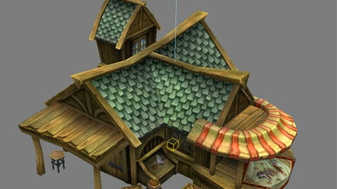 Game Model Arena - jewelry house 01