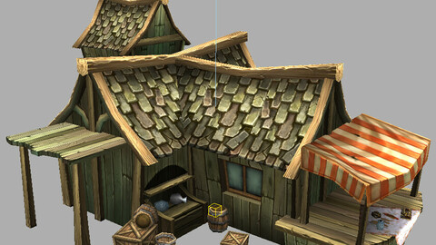 Game Model Arena - jewelry shop 01