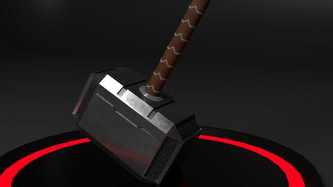 Thor's Hammer - Mjölnir with Animation