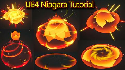 Moba Effect in UE4.26 Niagara