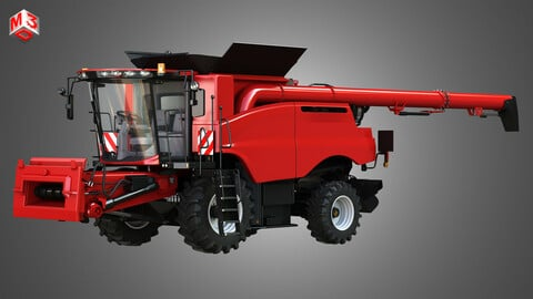 Axial-Flow 9240 Combine Harvester - with Wheels