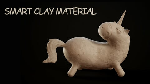 Clay smart material