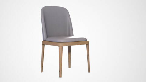 Evelyn Dining Chair grey finish