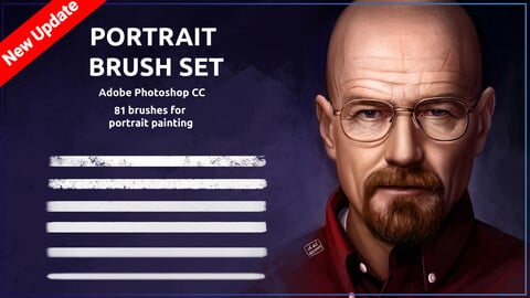 Portrait brush set (Pack 1)