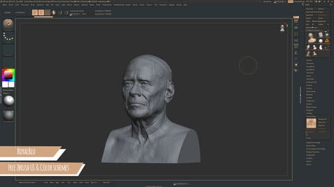 Free | ZBrush UI & Color Schemes