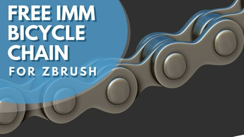 Free IMM Bicycle chain brush