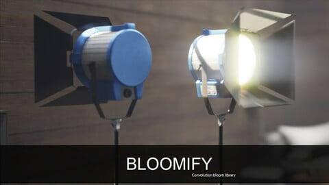 UE4 BLOOMIFY- Convolution Bloom pack Vol.1
