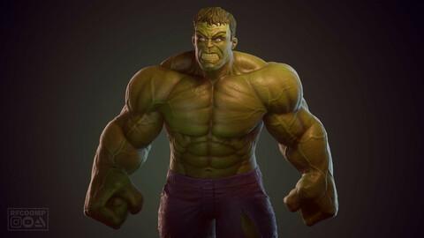 Hulk - 3D printable model