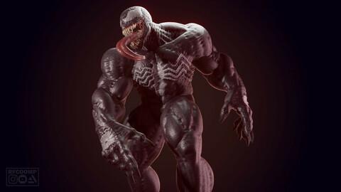 Venom - 3D printable model