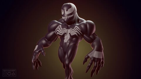 Chibi Venom - 3D printable model