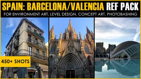 Spain (Barcelona/Valencia/Utiel) Ref Pack