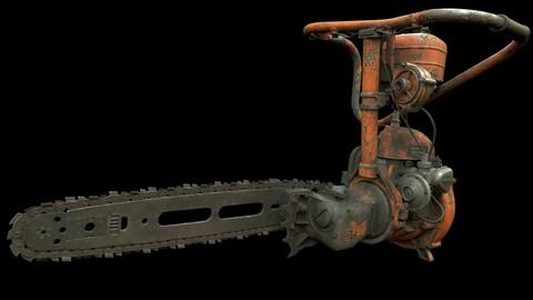 "Chainsaw ""DRUZHBA"" / ""ДРУЖБА"""