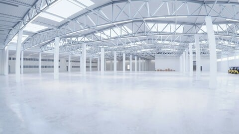 Industrial Warehouse Interior 2b
