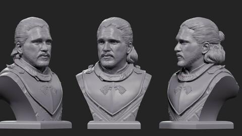 Jon Snow, bust 2