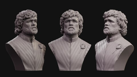 Tyrion Lannister bust 2