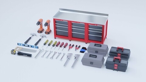 Tools and Workbench Collection