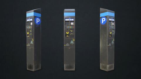 Parking Meter - Low Poly