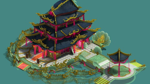 Ancient Chinese - luxury hotel