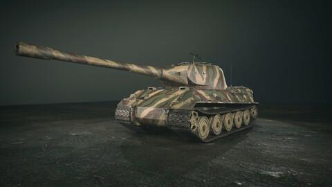 German Panzer VII Lowe Tank - 3D Model