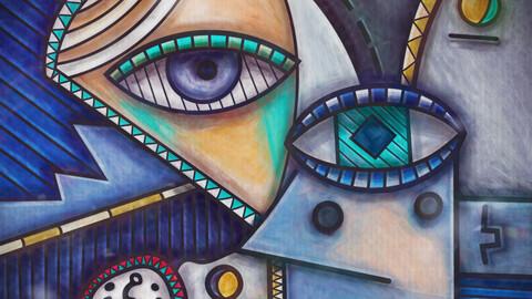 Abstract art Painting Digital art