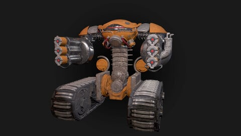 3D Robot Character Ruthus
