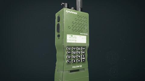 Military Walkie Talkie Radio - 3D Model
