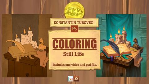 Coloring  - Still Life