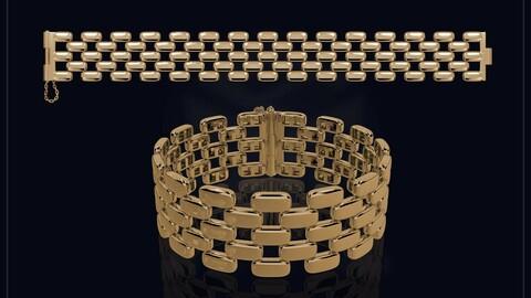 Creative Brick Style Bracelet