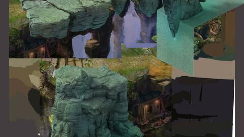 Terrain - Stone 06