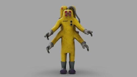 CDA Agent - Monster Inc 3D print model