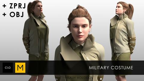 Military costume
