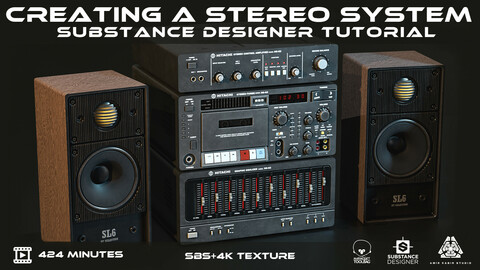 Creating a Stereo System  in Substance Designer
