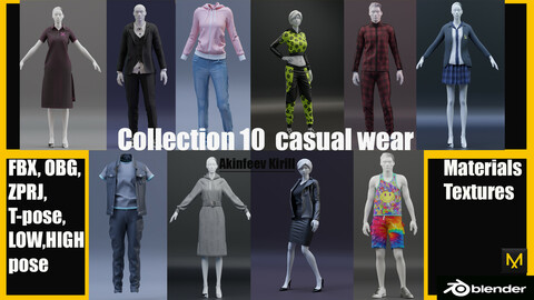 Collection 10  casual wear