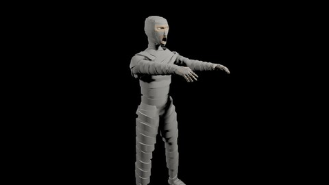 Mummy - Mumia 3D model