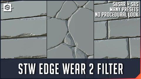 STW Edge Wear 2 Filter- Substance Designer Tool