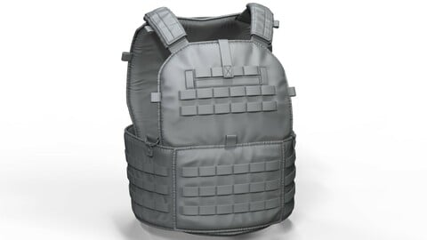 Zbrush Tactical Military Vest