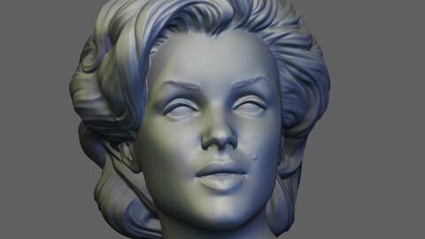 Marilyn Monroe 3D print model