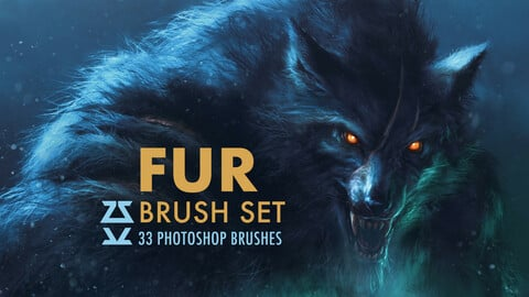 Fur Brush Set
