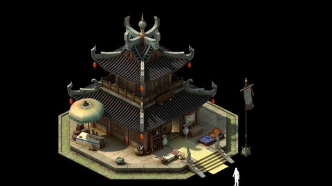 Game model - the city jewelry shop