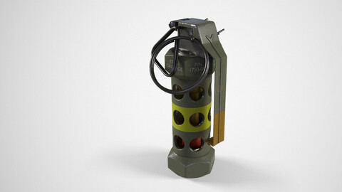 Stun M84 Grenade green