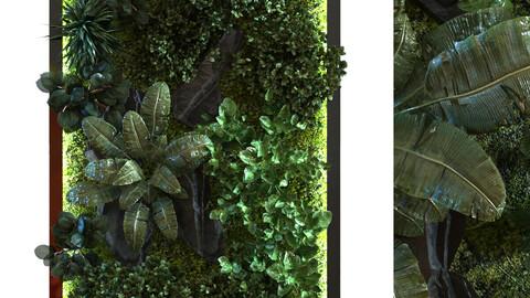green wall set 054