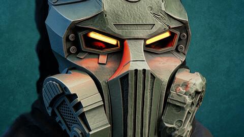 Kabal mask from Mortal Kombat 2021 for 3d print