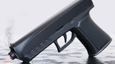 Glock 21 Gen-8 PBR Pistol