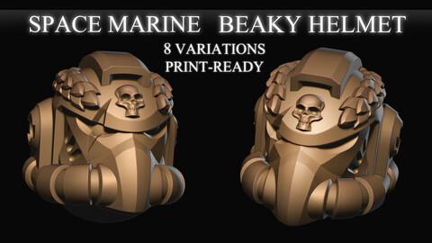 40k Space Marine Beaky Helmet