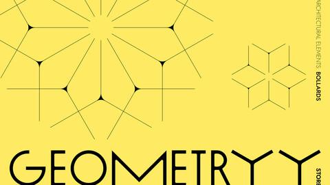 Geometryy Procedural Bollards (RailClone Templated 3D Models)