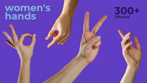 Women's Hands References For Artists