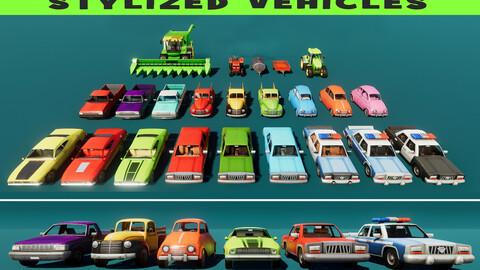 Stylized Vehicles