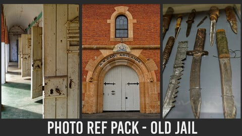 Photo Ref Pack - Old Jail