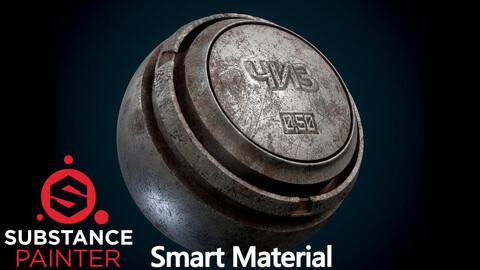 Old Metal Smart Material